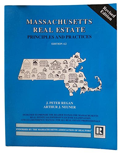Massachusetts Real Estate Principles Practices