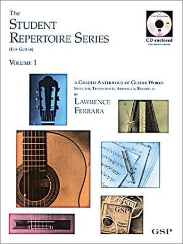 9780962783258: The Student Repertoire Series - Volume 1 (Classical Guitar)
