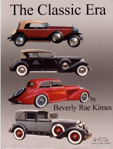 The Classic Era (0962786810) by Beverly Rae Kimes