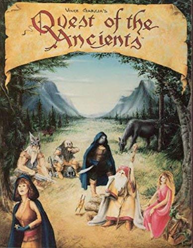 Quest of the Ancients (Roleplaying Game): Vince Garcia's