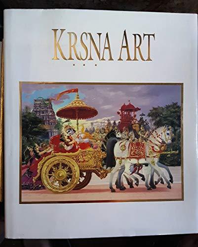 Krsna Art: A. C. Bhaktivedanta
