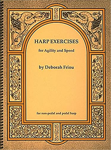 9780962812033: Harp Exercises For Speed And Agility For Non-Pedal & Pedal Harps