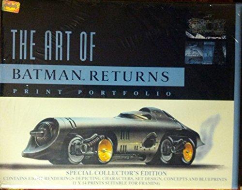 9780962818431: The Art Of Batman Returns. Print Portfolio