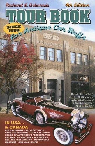 9780962832475: Tour Book for Antique Car Buffs: In USA and Canada (Tour Book for Antique Car Buffs in the USA & Canada)