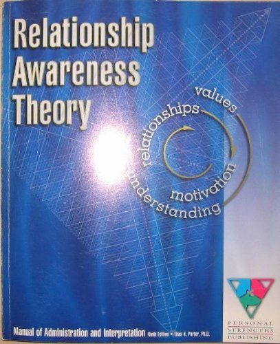 9780962873218: Relationship awareness theory: Manual of administration and interpretation