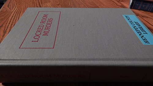 9780962887000: Locked Room Murders and Other Impossible Crimes: A Comprehensive Bibliography