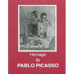 homage to picasso 1881 1973 fifty two drawings watercolors and pastels 1900 1972