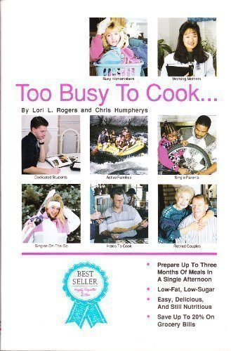 9780962906077: Eat & be lean: Too busy to cook