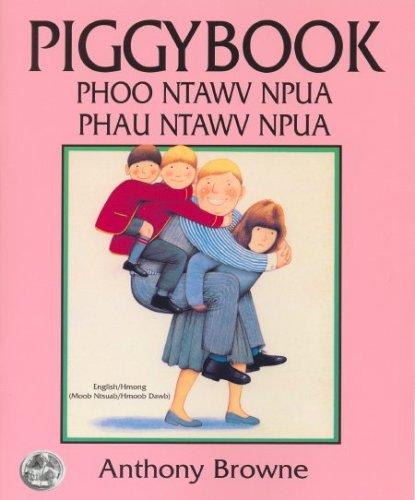 9780962929892: Piggybook/Phoo Ntawv Npua