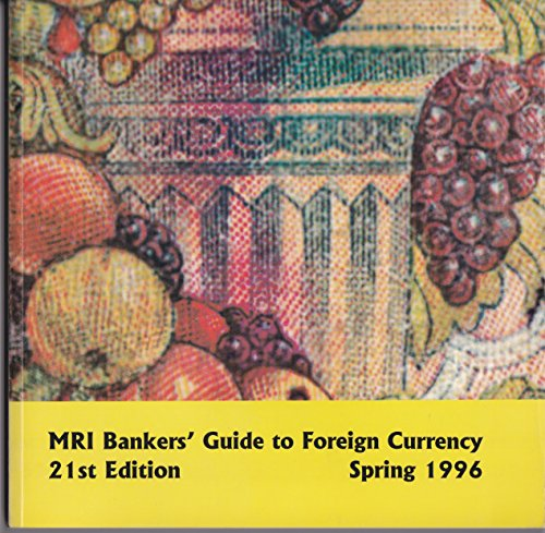9780962933974: Mri Bankers Guide to Foreign Currency Winter 1992-93