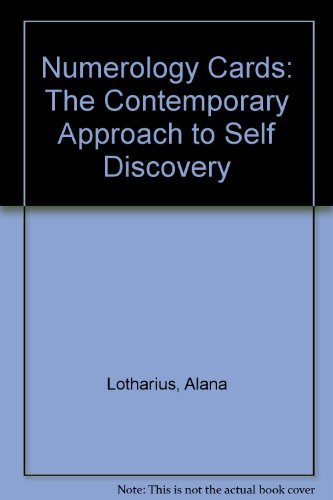 9780962973208: Numerology Cards: The Contemporary Approach to Self Discovery