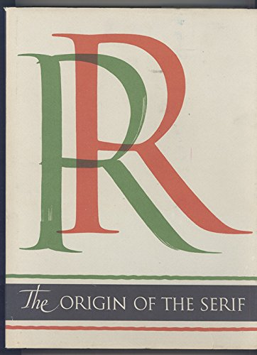 9780962974007: Origin of the Serif