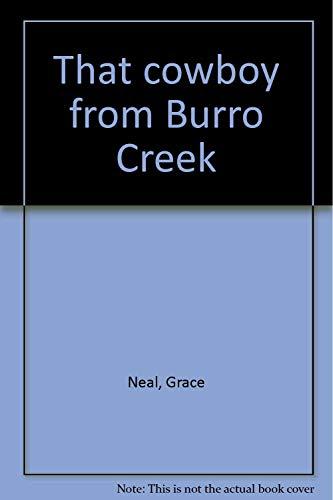9780963012517: That cowboy from Burro Creek