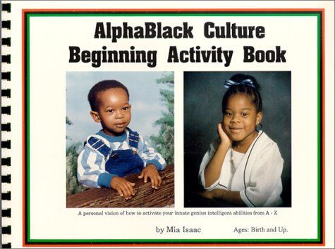 9780963022912: Alphablack Culture Beginning Activity Book