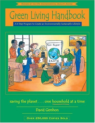 9780963032744: Green Living Handbook: A 6 Step Program to Create an Environmentally Sustainable Lifestyle