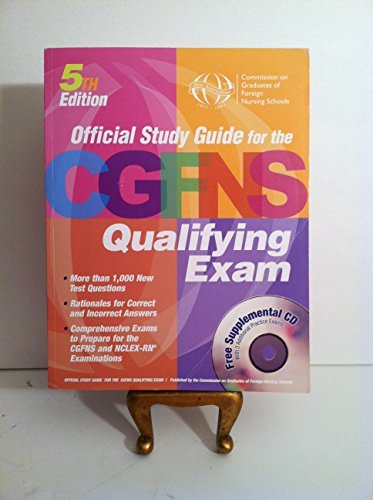 9780963059222: Official Study Guide for the CGFNS Qualifying Examination
