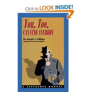 9780963062130: You, Too, Can Find Anybody: A Reference Manual