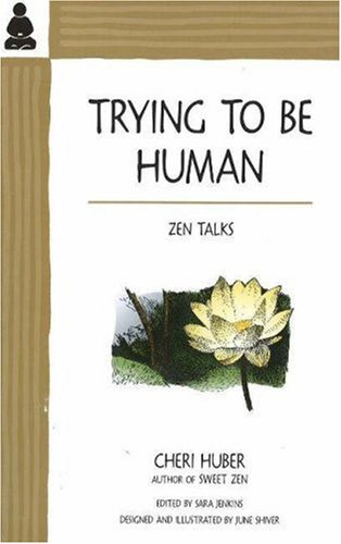 9780963078414: Trying to Be Human: Zen Talks