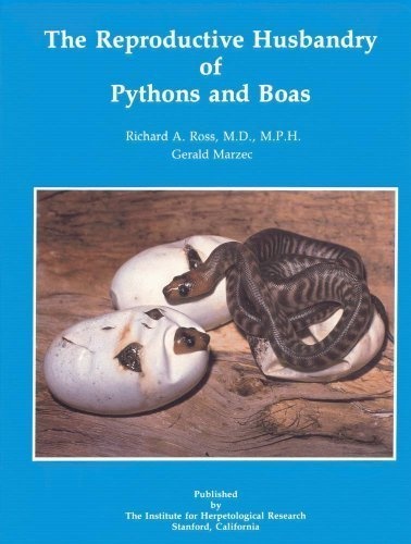 9780963147004: Reproductive Husbandry of Pythons and Boas