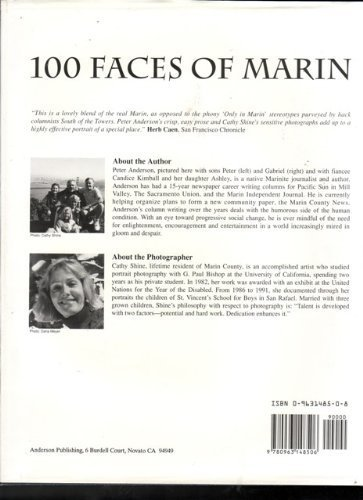 9780963148506: 100 Faces of Marin