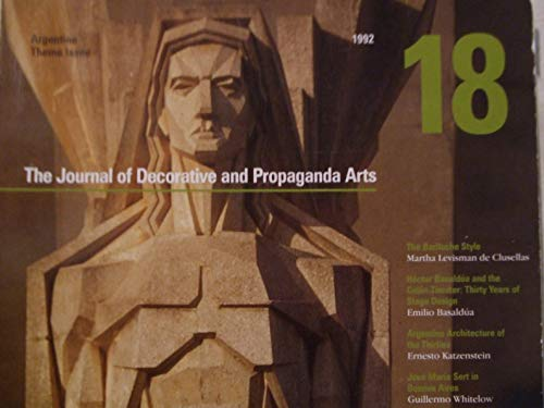 9780963160102: The Journal of Decorative and Propaganda Arts, 1875-1945