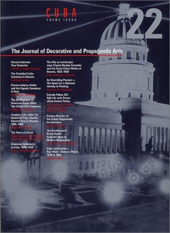 9780963160164: The Journal of Decorative and Propaganda Arts 22: Cuba Theme Issue