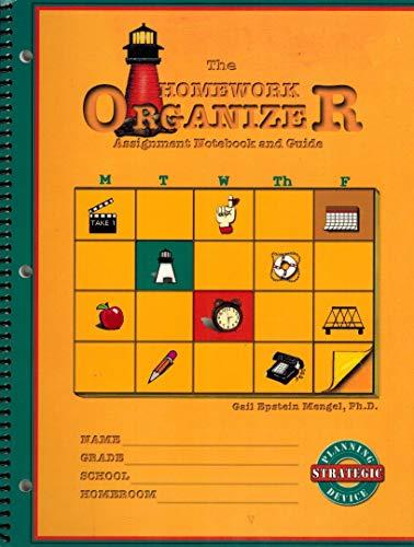 9780963170507: The Homework Organizer: Assignment Notebook & Guide