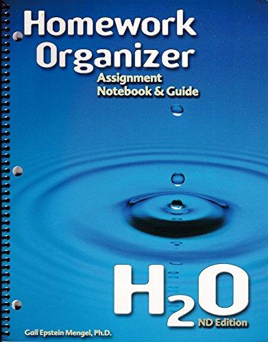 9780963170514: Homework Organizer: Assignment Notebook & Guide