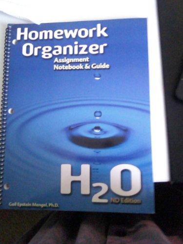 9780963170538: Homework Organizer