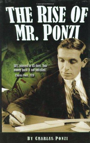 9780963192448: The Rise of Mr Ponzi