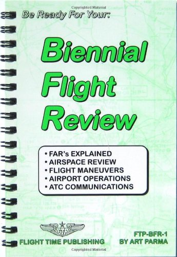 9780963197306: Biennial flight review (Flight bag series)