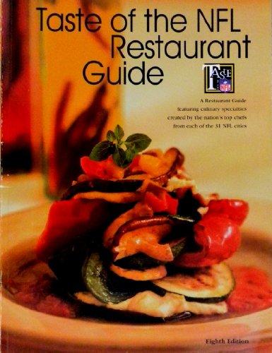 9780963197900: Taste of the NFL Restaurant Guide