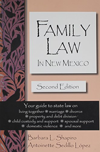 9780963217349: Family Law in New Mexico