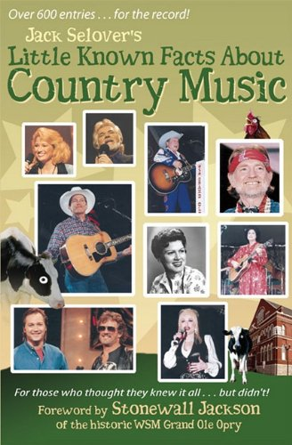 9780963268495: Little Known Facts About Country Music