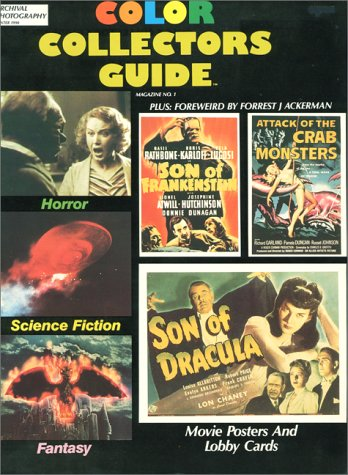 Horror, Science Fiction, Fantasy Movie Posters & Lobby Cards (Color Collector's Guide): ...