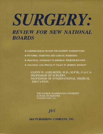 9780963287359: Surgery: Review for New National Boards