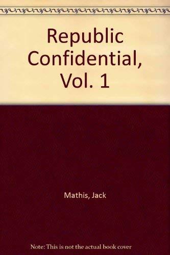 Republic Confidential, Vol. 1: The Studio: Mathis, Jack