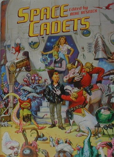 SPACE CADETS (18x Signed + Photo): Resnick, Mike (editor);
