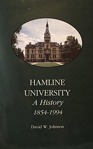 9780963368621: Hamline University: A History 1854-1994