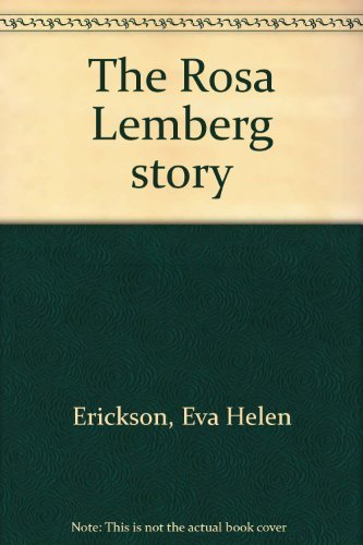 9780963378033: The Rosa Lemberg story