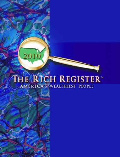 9780963393395: The Rich Register 2013: A Directory Of America's Wealthiest People
