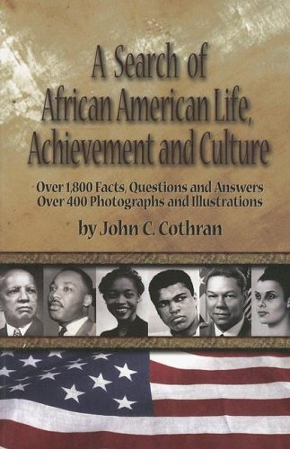 9780963400215: A Search of African American Life, Achievement And Culture: First Search