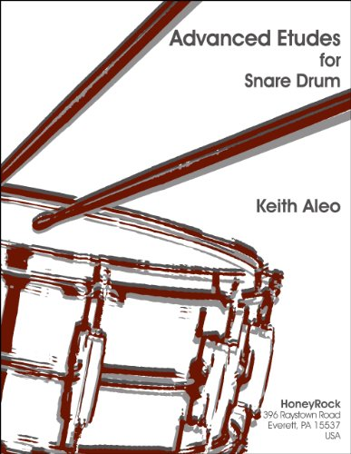 9780963406026: Advanced Etudes For Snare Drum