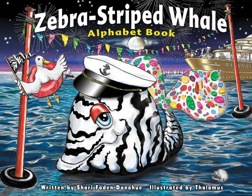 9780963428776: Zebra-Striped Whale Alphabet Book