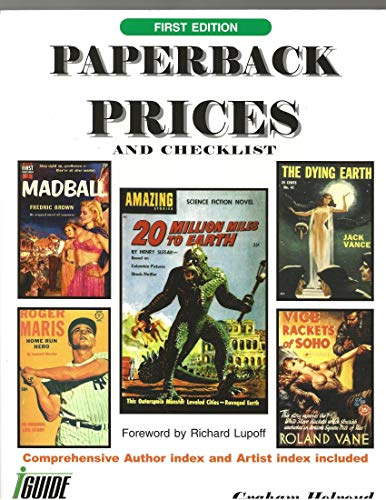 Paperback Prices and Checklist: Holroyd, Graham (intro by Richard Lupoff)