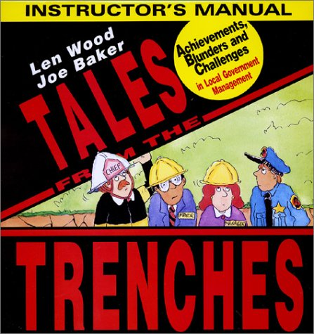 9780963437471: Tales from the Trenches Instructor's Manual