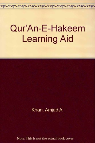 9780963449603: Qur'An-E-Hakeem Learning Aid