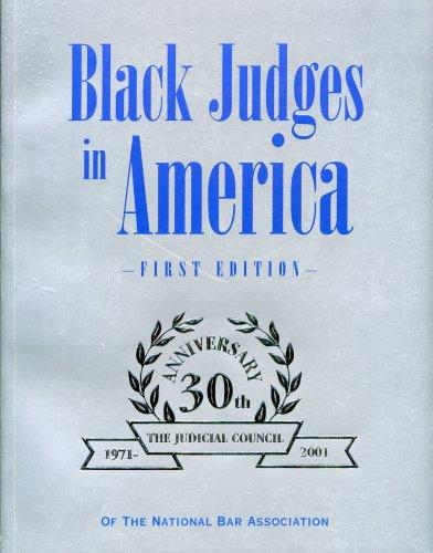 9780963457950: Black Judges in America