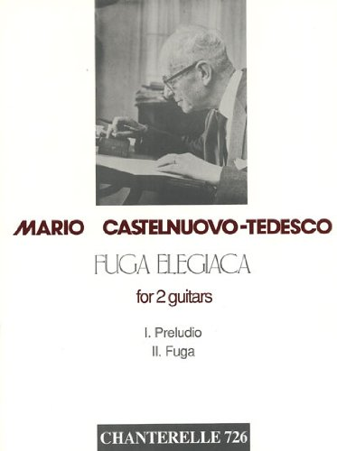 9780963542823: Fuga Elegiaca: For 2 Guitars