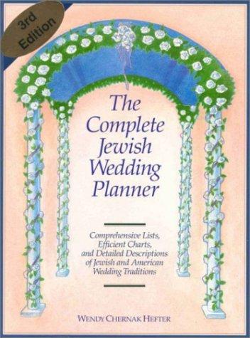9780963575302: The Complete Jewish Wedding Planner